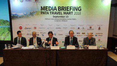 صورة وزير السياحة الماليزية يدشن سوق السفر الآسيوي (PATA)