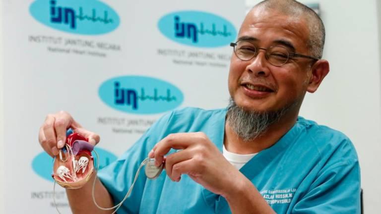 Photo of المعهد الوطني للقلب يحقق سبقاً طبياً في ماليزيا بزراعة ناظم قلبي لدى مريضة حامل