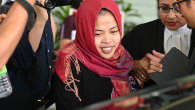 "Photo of ماليزيا تطلق سراح ستي عائشة المتهمة بقضية ""كيم جونغ نام"""