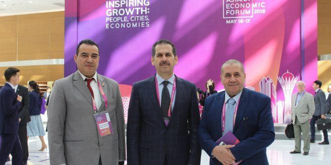 السفير الأردني في كازاخستان: علاقاتنا ممتازة ومنتدى أستانا فرص استثمارية وتنموية