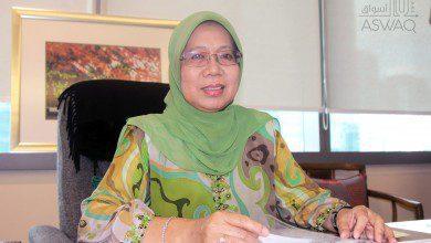 """صورة حوار خاص لـ """"أسواق"""" مع رئيسة غرفة التجارة العربية الماليزية"""