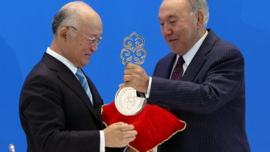 Photo of خلال احتفال احتضنته كازاختسان… أمانو وزيربو يفوزان بجائزة نزارباييف للأسلحة النووية