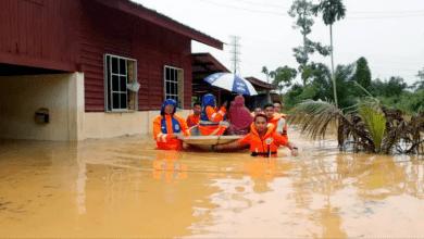 صورة 272 ماليزيًّا في مراكز الإيواء بسبب فيضان بيراك