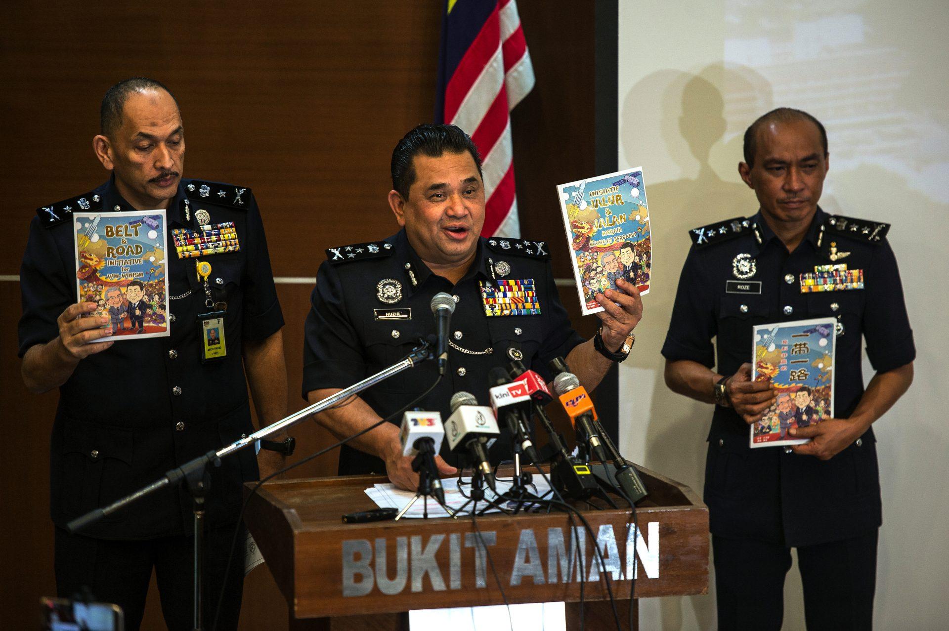 """ماليزيا تحظر رسميًّا كتاب """"سوبرمان هيو"""" الهزلي المؤيد للصين"""