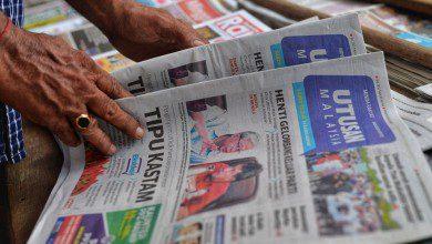 صورة صحيفة أوتوسان الماليزية تُغلق بعد 80 عاماً من العمل