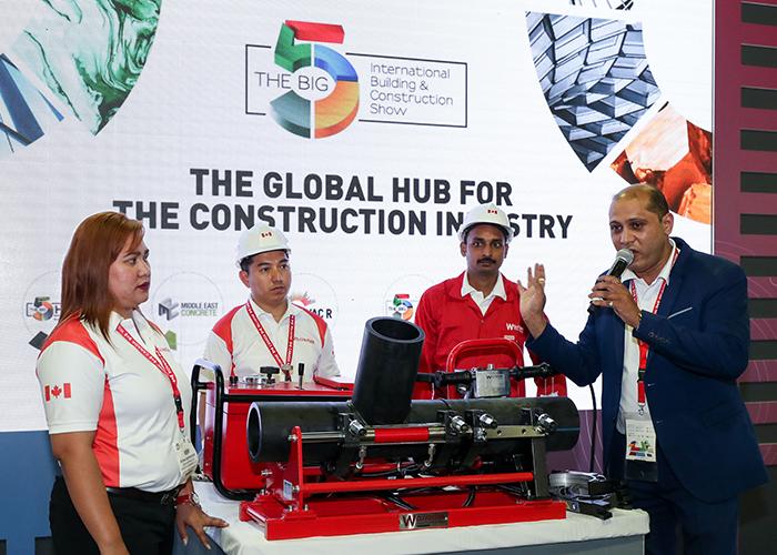 """ماليزيا تسوّق شركاتها الإنشائية في معرض """"The Big 5"""" بدبي"""