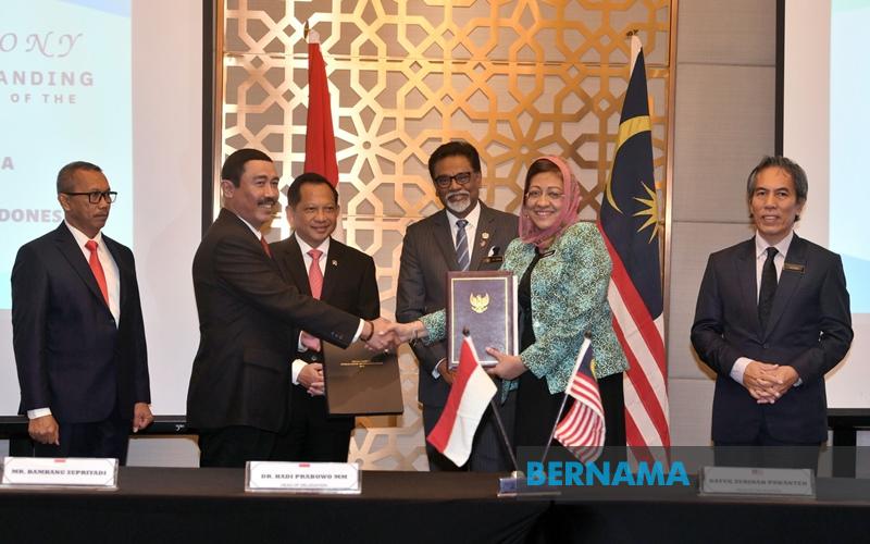ماليزيا وإندونيسيا توقعان مذكرة تفاهم لحل قضايا الحدود