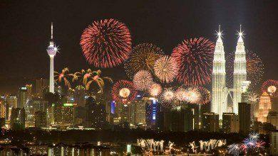 صورة أين تحتفل برأس السنة الجديدة في ماليزيا؟