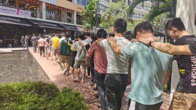 Photo of دائرة الهجرة الماليزية تعتقل 87 مواطناً صينياً بتهمة الاحتيال