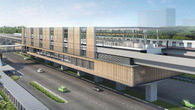 صورة وزارة المالية: 70% نسبة الإنجاز في مشروع قطار MRT2