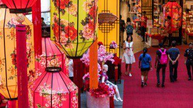 Photo of الفوانيس الحمراء تزين شوارع كوالالمبور استعداداً للاحتفال برأس السنة الصينية