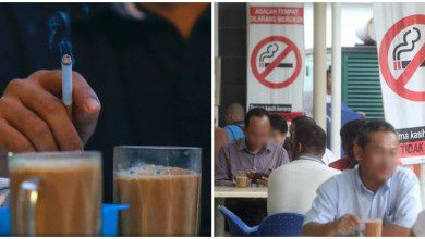 Photo of بعد يومٍ من تطبيق قرار الحظر..  عشرات المخالفات للمدخنين في مطاعم ماليزيا