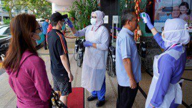 Photo of وزارة الصحة الماليزية تعلن ارتفاع حالات الإصابة بفيروس كورونا إلى 21