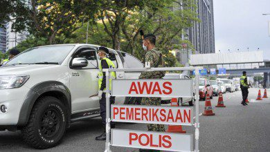 Photo of الشرطة الماليزية تعتقل 110 أشخاص لمخالفتهم قانون تقييد الحركة