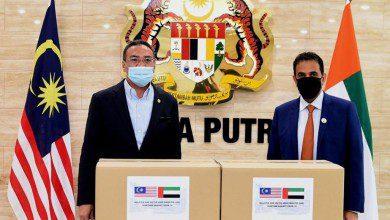 Photo of 20 ألف جهاز فحص كورونا مساعدة الإمارات إلى ماليزيا