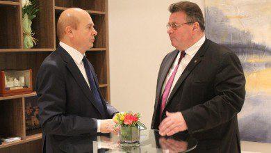 Photo of وزير الخارجية الليتواني:  علاقات التعاون الاقتصادي مع الامارات تشهد نموًا بنسبة 50%