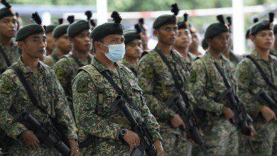 Photo of 7000 جندي من الجيش الماليزي يشاركون في فرض تقييد الحركة