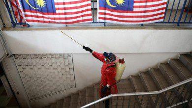 صورة ارتفاع المناطق الأكثر خطورة بسبب كورونا في ماليزيا إلى 26