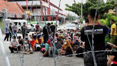 صورة البدء بترحيل المهاجرين غير الموثقين من ماليزيا لبلدانهم في 6 يونيو