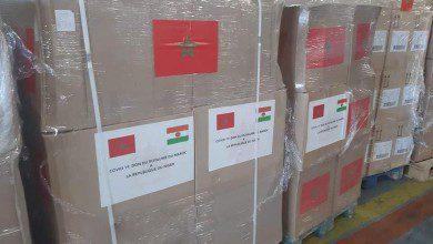 صورة المملكة العربية المغربية ترسل مساعدات طبية لعدة دول إفريقية