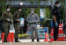 Photo of الشرطة الماليزية تعتقل 77 مخالفاً لتعليمات تقييد الحركة للتعافي