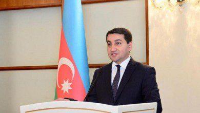 """صورة مساعد رئيس أذربيجان: وفد مجموعة """"مينسك"""" يزور باكو قريبا لإطلاق عملية سلام جادة"""