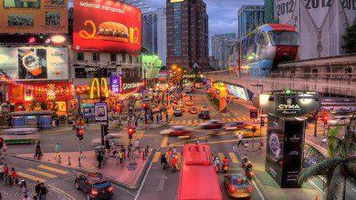 """صورة شارع العرب """"بوكيت بنتانج"""".. واجهة السياحة الماليزية"""