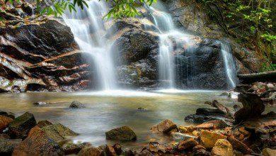 "Photo of شلالات ""روانج"".. خريرٌ عذب وسط غابات ماليزيا"