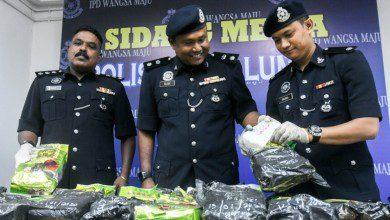 صورة الشرطة الماليزية تضبط 144 عصابة مخدرات منذ مطلع العام