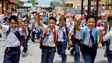 صورة استئناف الأنشطة الرياضية في مدارس ماليزيا مطلع سبتمبر