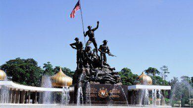 صورة النصب التذكاري الوطني الماليزي.. أيقونة الحرية والسلام