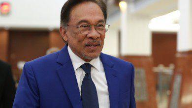 صورة أنور إبراهيم يعلن حصوله على أغلبية البرلمان ليكون رئيس وزراء ماليزيا