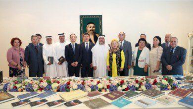 """Photo of سفير كازاخستان يفتتح مركز """"آباي"""" للمعلومات والثقافة في أبوظبي"""