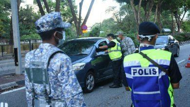 صورة الحكومة الماليزية توسع من مناطق تقييد الحركة المشروط والمشدد