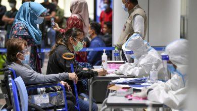 """صورة مدير الصحة للماليزيين: """"لا تبكوا على اللبن المسكوب"""""""