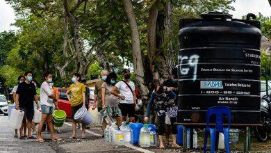 """صورة """"مياه سيلانجور"""" تعود بشكل تدريجي وانتهاء الانقطاع في 23 أكتوبر"""