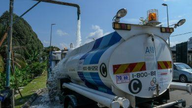 صورة مياه سيلانجور في طريقها للعودة إلى كلانج وشاه علم