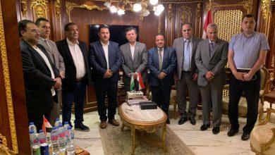 صورة سفير أوزبكستان يزور جمعية رجال الأعمال المصريين العمانيين
