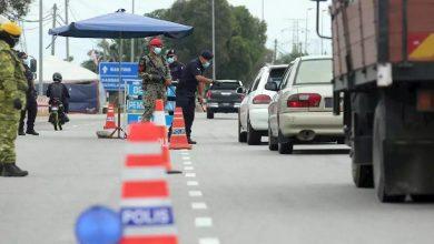 صورة الشرطة الماليزية تعبّر عن رضاها من التزام المواطنين بتعليمات CMCO