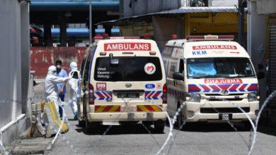 صورة وفاة سائق إسعاف نقل مصاب كوفيد-19 والصحة الماليزية تعلّق