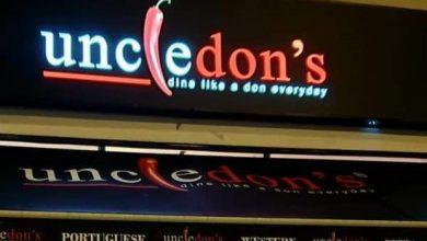 صورة مطعم Uncle Don's يحث زبائنه على الفحص بعد إصابة أحد عماله بكوفيد-19