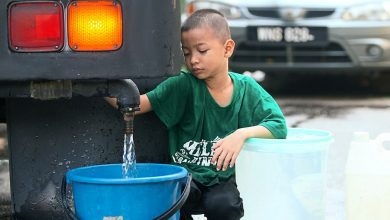 صورة استمرار أزمة مياه سيلانجور والإمدادت تعود لـ69% من المتضررين
