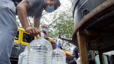 صورة انقطاع إمدادات مياه سيلانجور عن 43 منطقة في بيتالينج ودمانسارا