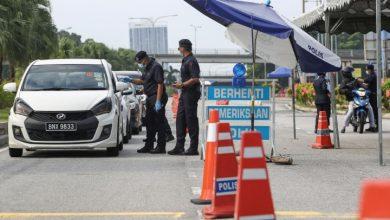 صورة الشرطة الماليزية تبدي استعدادها في حال تمديد قرار تقييد الحركة المشروط
