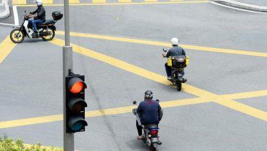 """صورة الشرطة الماليزية تطلق حملة """"مشددة"""" لضبط المخالفين لإشارات المرور"""