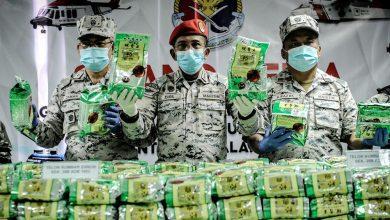صورة البحرية الماليزية تحبط أكبر عملية تهريب للمخدرات منذ 13 عاماً