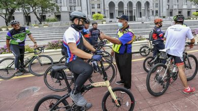 صورة بوتراجايا تفرض غرامة تصل إلى 2,000 رنجيت على راكبي الدراجات المستهترين