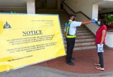 """صورة وزير الدفاع الماليزي: لا يحق لإدارات المباني السكنية إصدار مخالفات """"SOPs"""" للسكان"""