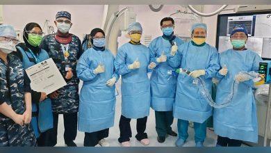 صورة المعهد الوطني للقلب (IJN) في ماليزيا يستخدم تقنية جديدة لعلاج انسداد الشرايين