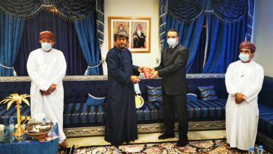 صورة جمعية الصحفيين العمانية تكرم الزميل محمد سعد